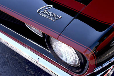 Chevy Ss Wall Art - Photograph - '68 Camaro by Mike Maher