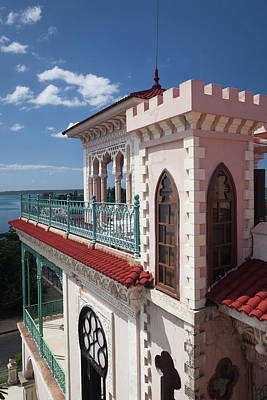 Caribbean House Wall Art - Photograph - Cuba, Cienfuegos Province, Cienfuegos by Walter Bibikow