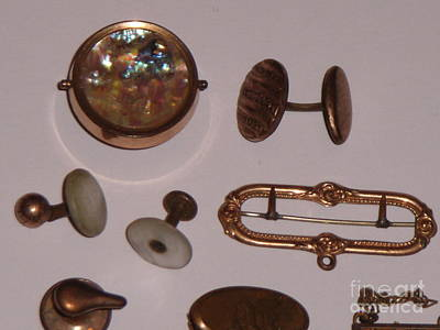 Cufflinks Photograph - 68567 by Tome Traders