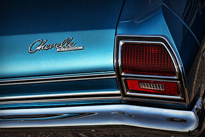 Photograph - '69 Chevelle by Gordon Dean II