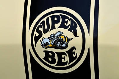69 Dodge Super Bee Art Print by Thomas Schoeller