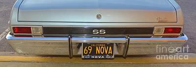 Photograph - 69 Nova 2 by Bob Sample