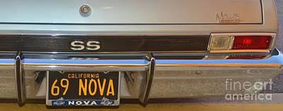 Photograph - 69 Nova 3 by Bob Sample