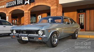Photograph - 69 Nova Ss Muscle Car by Bob Sample