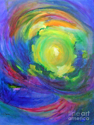Eye Brows Painting - 6th Chakra - Third Eye Or Brow by Madalyn Kennedy
