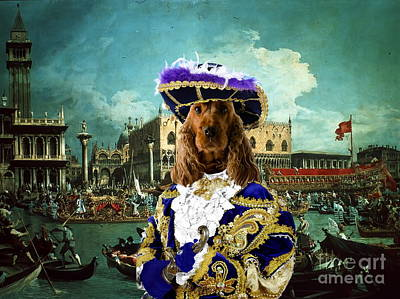 Cocker Spaniel Painting -  English Cocker Spaniel Art Canvas Print  by Sandra Sij