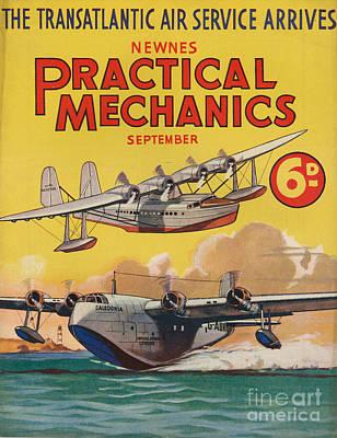 1930s Uk Practical Mechanics Magazine Art Print by The Advertising Archives