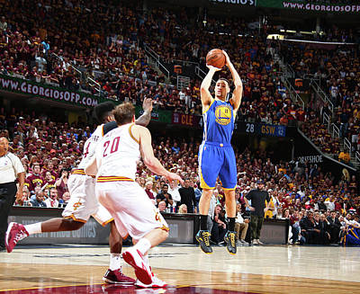 Photograph - 2015 Nba Finals - Game Six by Nathaniel S. Butler