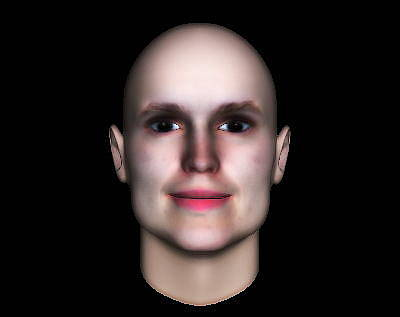 Digital Art - 3d Human Face  by Museum Quality Prints -  Trademark Art Designs