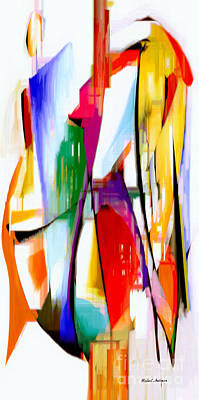 Digital Art - Abstract Series Iv by Rafael Salazar