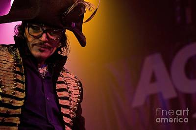 Prince Charming Photograph - Adam Ant by Jenny Potter