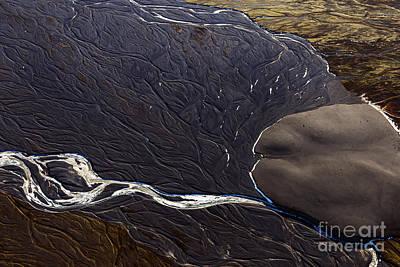 Photograph - Aerial Photography by Gunnar Orn Arnason