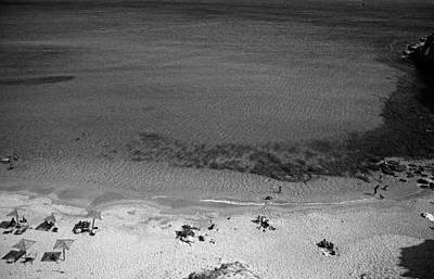 Wild Horse Paintings - Agrari beach by George Atsametakis