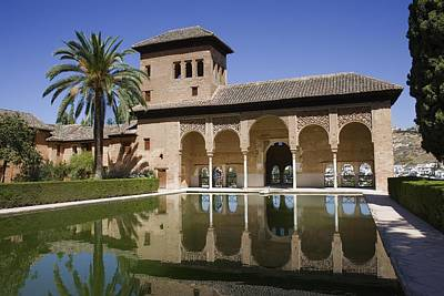 Alhambra De Granada Photograph - Alhambra. Spain. Granada. Alhambra by Everett