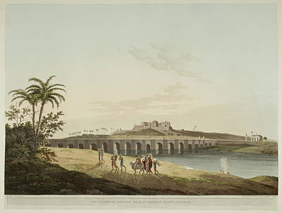 Palace Bridge Photograph - Antiquities Of India by British Library