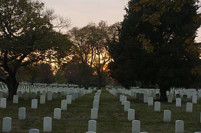 Kim Fearheiley Photography - Arlington National Cemetery  by Kenneth Drylie