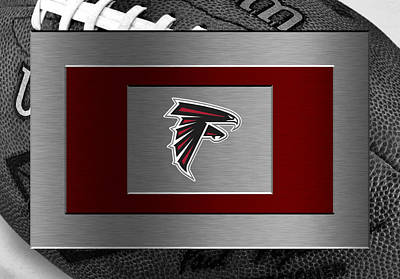 Falcon Photograph - Atlanta Falcons by Joe Hamilton