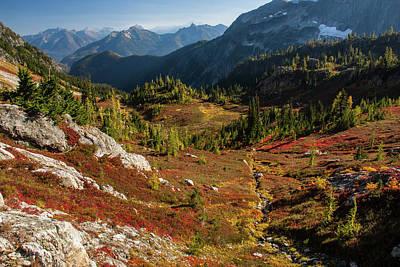 Zamora Photograph - Autumn, North Cascades National Park by Eric Zamora