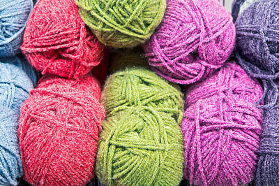 Royalty-Free and Rights-Managed Images - Balls of wool by Tom Gowanlock