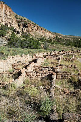 Ancestrals Photograph - Bandelier National Monument by Jim West