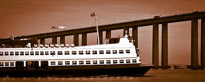 Photograph - Barca Rio-niteroi Ferry Boat On Baia De Guanabara by Celso Diniz