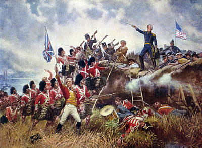 Redcoat Painting - Battle Of New Orleans, 1815 by Granger