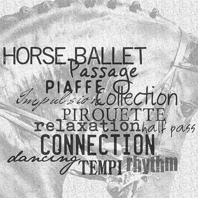 Photograph - Be Equestrian Ballet by JAMART Photography