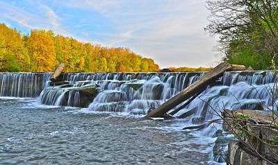 Miraculous Photograph - Berea Falls by Frozen in Time Fine Art Photography