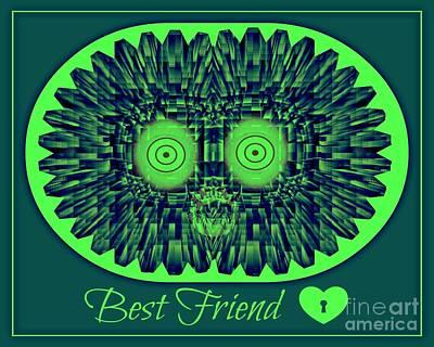 Best Friends Art Print by Meiers Daniel