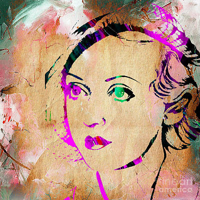 Mixed Media - Bette Davis Collection. by Marvin Blaine