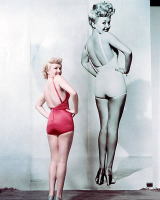 Betty Photograph - Betty Grable by Silver Screen