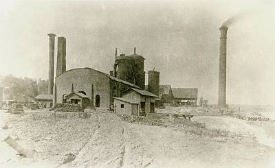 1890s Photograph - Blast Furnace by Hagley Museum And Archive