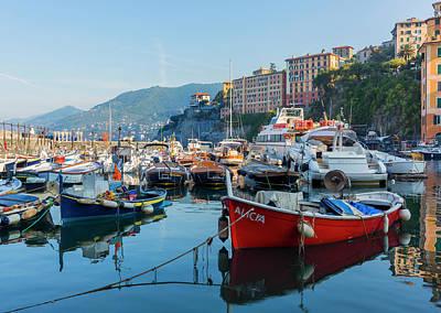 Camogli, Genoa Province, Italy Art Print by Ken Welsh