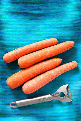 Photograph - Carrots by Tom Gowanlock