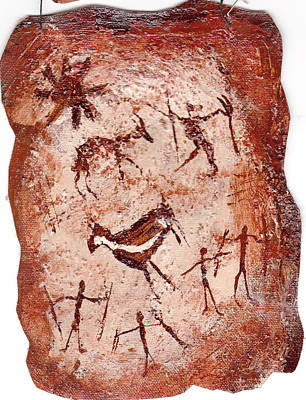 Painting - Cave Art by Shelley Bain