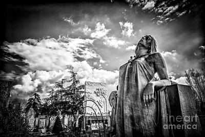 Photograph - Cemetery Of Mantova by Traven Milovich