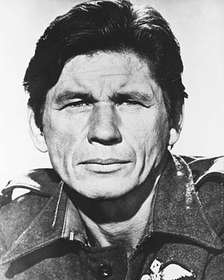 Charles Bronson Photograph - Charles Bronson by Silver Screen