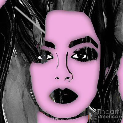 Charli Xcx Collection Art Print