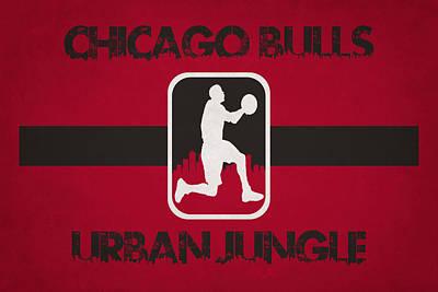 Chicago Bulls Art Print by Joe Hamilton