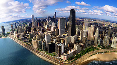 Hancock Building Wall Art - Photograph - Chicago Il by Panoramic Images