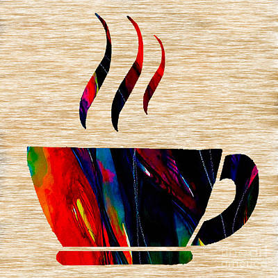 Mixed Media - Coffee by Marvin Blaine
