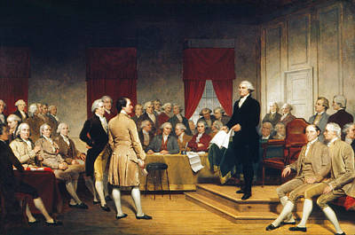Constitutional Convention Painting - Constitutional Convention by Granger