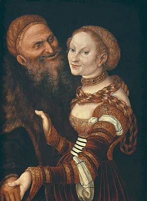 Whores Photograph - Cranach, Lucas, The Elder 1472-1553 by Everett