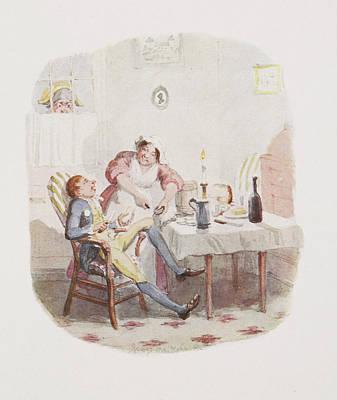 Cruikshank Photograph - Cruikshank's Water Colours by British Library