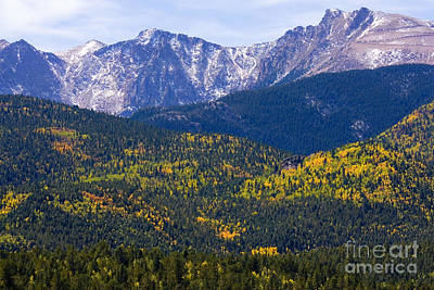Steven Krull Royalty-Free and Rights-Managed Images - Crystal Creek Autumn by Steven Krull