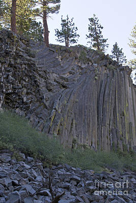Airplane Paintings - Devils Postpile National Monument by Jason O Watson