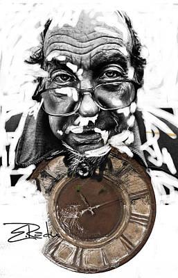 Digital Art - Er Ink Art Print by Enache  Radu