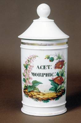 Apothecaries Photograph - Drug Jar by Science Photo Library