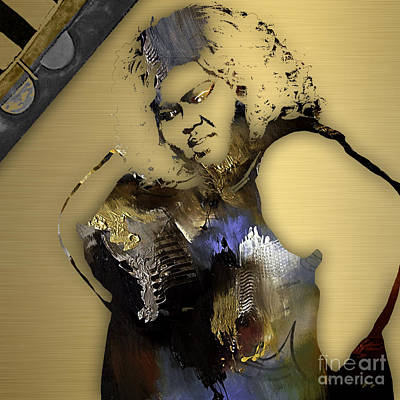 Mixed Media - Empire's Gabourey Sidibe Becky by Marvin Blaine