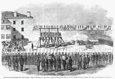 Republican Painting - Execution Of Conspirators by Granger